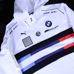 Puma BMW Motorsport Hooded Sweatshirt L-XL